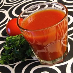 Homemade Tomato Juice Cocktail Recipe