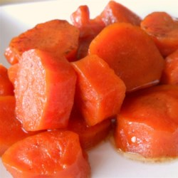 Sweet Baked Carrots
