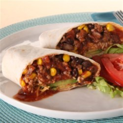 KRAFT RECIPE MAKERS Beefy Burrito