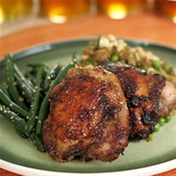 Honey Five-Spiced Thighs