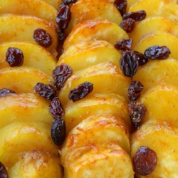 Sweet Potatoes with Brandy and Raisins |