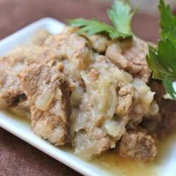 Egyptian Lahma Bil Basal (Beef in Rich Onion Sauce) Recipe