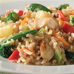 Easy Sweet and Sour Chicken from Minute(R) Rice