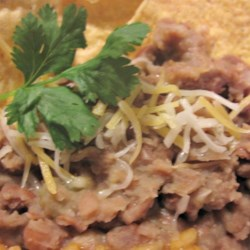 Refried Beans W/O the Refry