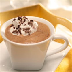 Caramel Mocha Hot Chocolate Recipe