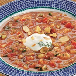 Photo of Tomato and Almond Gazpacho by Dannon Oikos