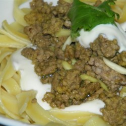 Middle Eastern Pasta With Yogurt and Pine Nuts Recipe