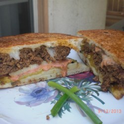 Tex-Mex Patty Melts