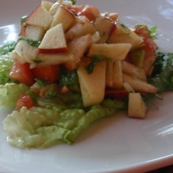 Peach Apple Salsa  Recipe