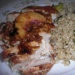 Spicy Peach Chicken Recipe