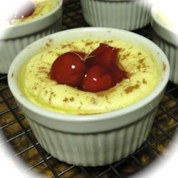 Low Fat Ramekin Cheesecake