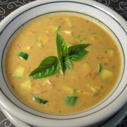 Roasted Garden Tomato Basil Soup Recipe