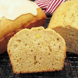 Spiced Buttermilk Pound Cake - open picture, see link for more.