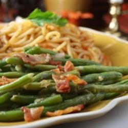 Green Beans With Shallot Dressing Recipe