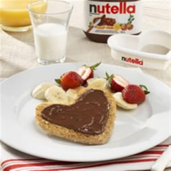 I Love My NUTELLA(R) Breakfast Recipe