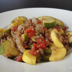 Braseltouille - Meatatarian Ratatouille Recipe