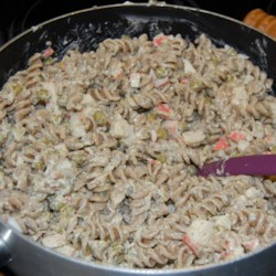 Easy Crab Pasta Salad Recipe