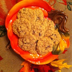 Cranberry Orange Oatmeal Cookies Recipe