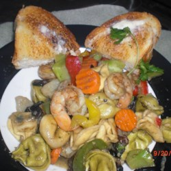Shrimp and Vegetable Pasta Toss Recipe