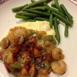 Cajun Shrimp with Cheese Grits Recipe