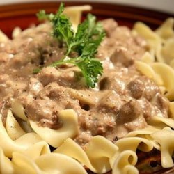 Cream Cheese Steak Stroganoff Recipe