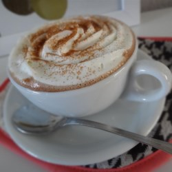 pumpkin spice hot chocolate printer friendly