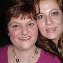 Rona and I on her birthday