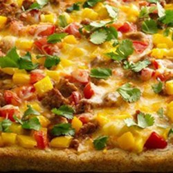 Taco Pizza from Pillsbury(R) Pizza Crust Recipe