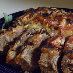 Bacon Wrapped Mushroom Meatloaf