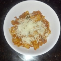 Rigatoni Pasta with Chorizo Recipe