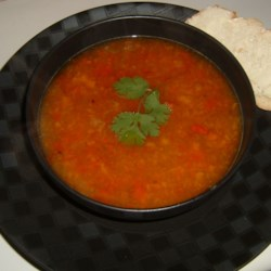 Rainbow Roasted Pepper Soup |