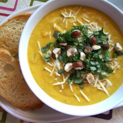 Spiced Butternut Squash Soup Recipe