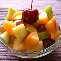Chloe's Quick Fruit Salad Recipe