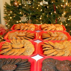 Cookies Across America every Christmas season!