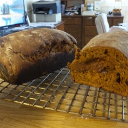 Oatmeal Raisin Molasses Bread
