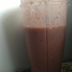 Strawberry Banana Protein Smoothie Recipe