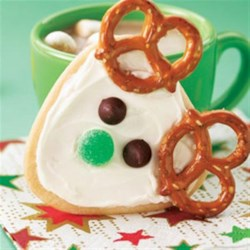 Frosted Reindeer Cookies Recipe