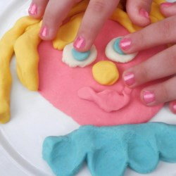 Colorful and Edible Play Dough Recipe