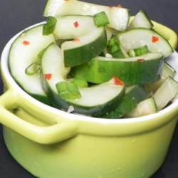 Spicy Asian Cucumbers Recipe