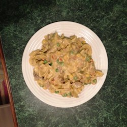 Yummy Pork Noodle Casserole Recipe