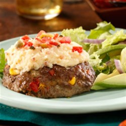 Photo of South of the Border Mashed Potatoes Meatloaf by Idahoan