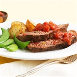 Photo of Southwest Meatloaf with Sweet Salsa Sauce by Kellogg's* All-Bran* cereal