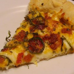 What's for dinner mom?'s~ 'Jan's Jalapeno Popper Pizza'