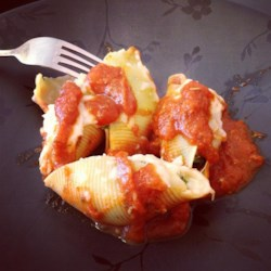 Cheese and Bacon-Stuffed Pasta Shells Recipe