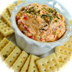 Sarah's Christmas Pimento Cheese Ball
