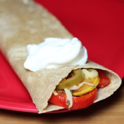 Colorful Vegetable Fajitas Recipe