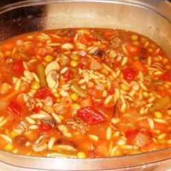 Spicy Vegetable Beef Soup Recipe