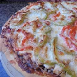 BBQ Chicken Pizza II Recipe
