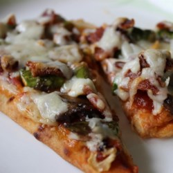 Rustic Flatbread Pizza Recipe