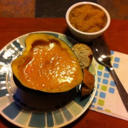 Butternut Squash Sweet Potato Soup Recipe
